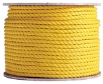 3 Strand Twisted Yellow Polypropylene 1200-ft x 1-inch
