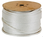 Solid Braided Polyester Rope white 100-ft x 1/2-inch
